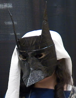 Anubis Mask- duct tape