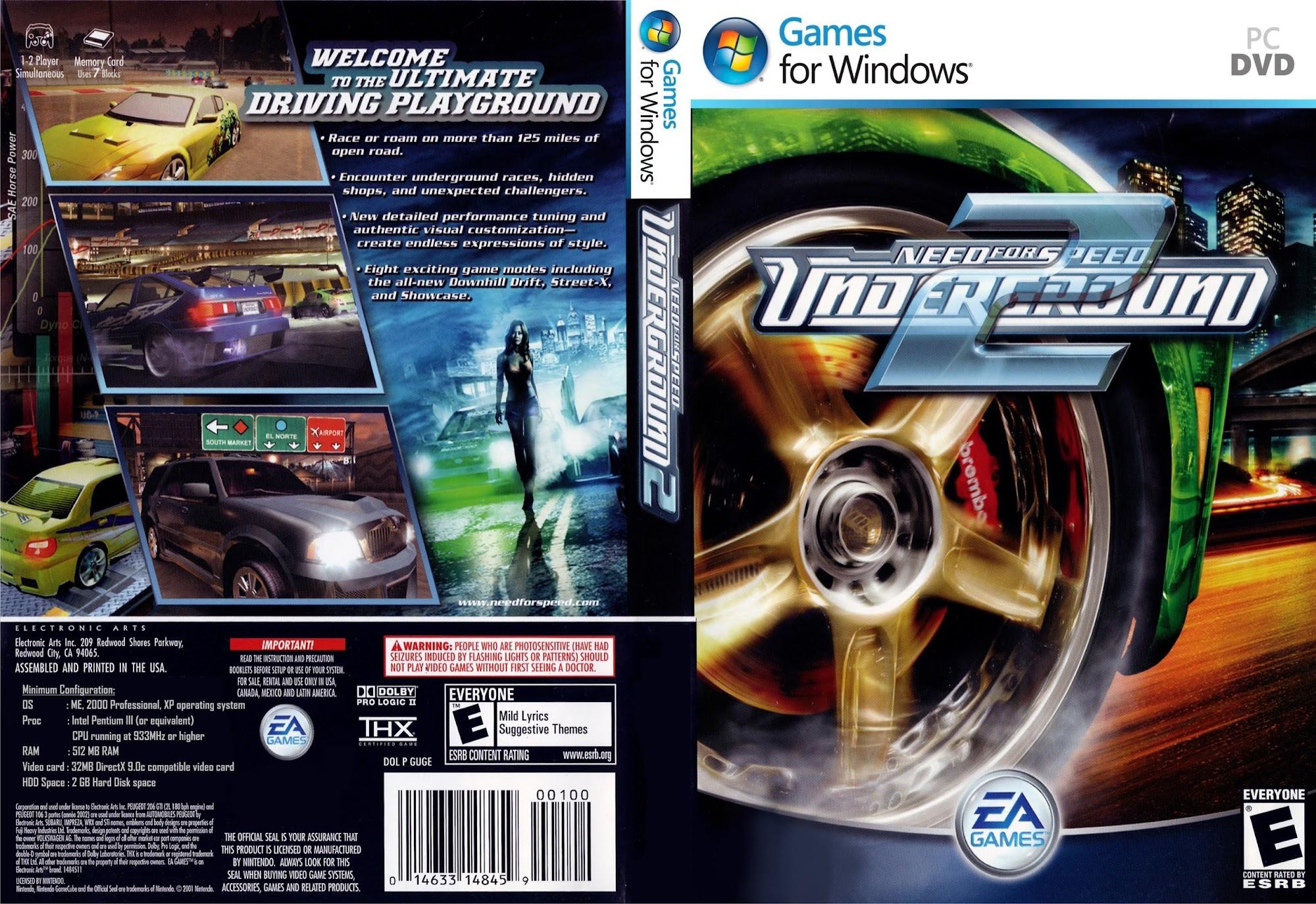 Download Need For Speed Underground 2 Torrent