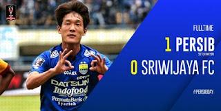 Persib Bandung vs Sriwijaya FC 1-0