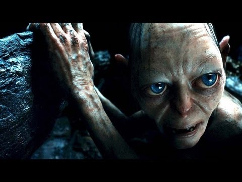 Andy Serkis as Gollum The Hobbit 2012 movieloversreviews.filminspector.com