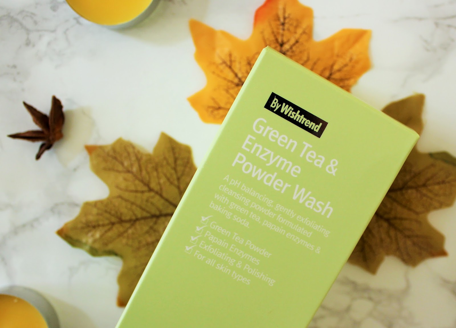 Wishtrend Green Tea & Enzyme Powder Wash Review - 3