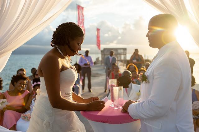 mariage la créole beach Guadeloupe