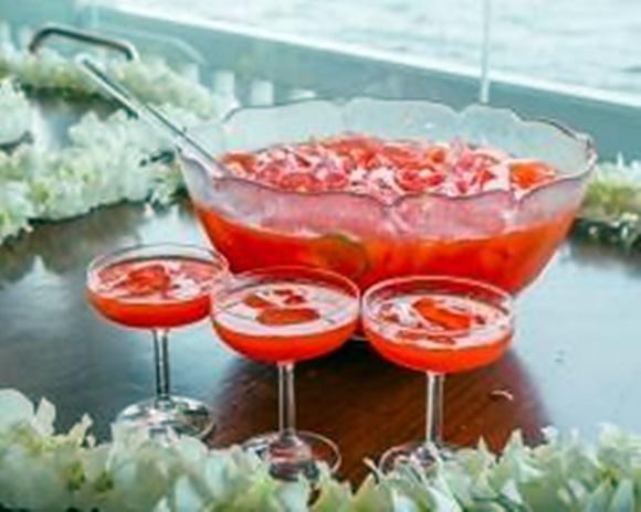 Cocktail Vodka Passoa Et Pamplemousse