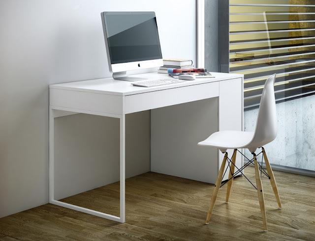 modern white home office furniture online UK best buy