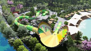 Venus Vortex Concept Art Lake Compounce Water Park