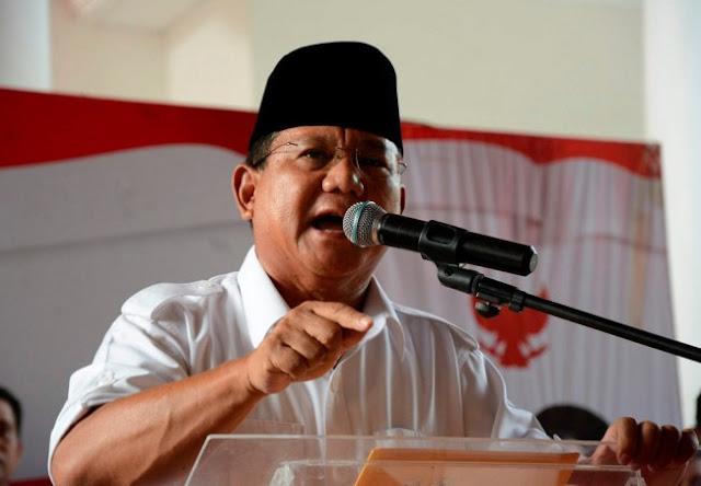 Prabowo Singgung Pelemahan Rupiah Era Jokowi