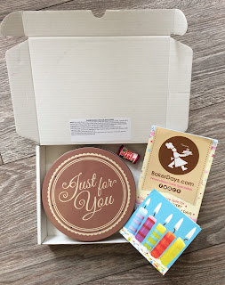 BakerDays letterbox Cake