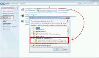 Mengaktifkan .Net Framework pada windows 7, 8, dan 10