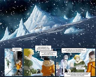 BD - Manga - Capitaine Albator, Mémoires de l'Arcadia - plusieurs styles graphiques et un clin d'oeil à Leiji Matsumoto