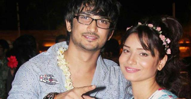 Shushant SIngh Rajput and Ankita Lokhande