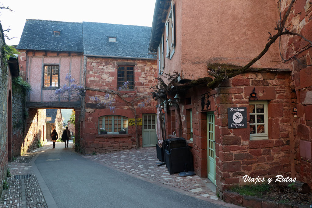 Calle de Collonges la Rouge, Francia
