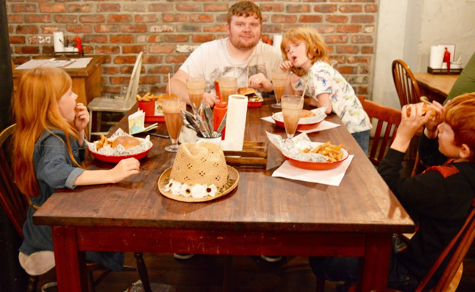 The Fat Hippo Underground with Kids | Simply the Best Burgers in Newcastle - fat hippo underground interior