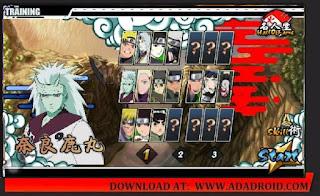 Download Naruto Senki The Last Fixed by Ljames V2 Mod Apk for Android