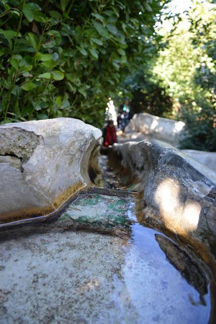 wodne schody – Escalera del Agua Alhambra