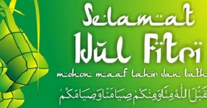Kata Kata Ucapan Selamat Lebaran Hari Raya Idul Fitri 1440