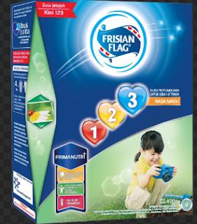 Rekomendasi Susu Frisian Flag untuk Anak Usia 1-3 Tahun