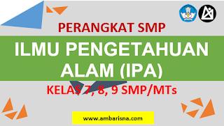 Download RPP 1 Lembar IPA SMP Kelas 7, 8, 9 Terbaru