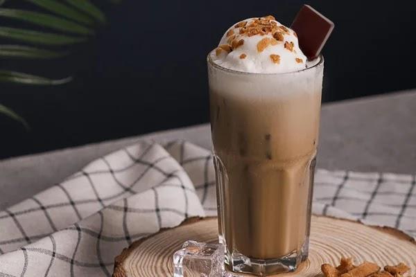 Cách làm cafe cappuccino dừa béo thơm ngon