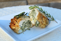 Spinach & Cream Cheese Stuffed Chicken (Seriously To Die For)