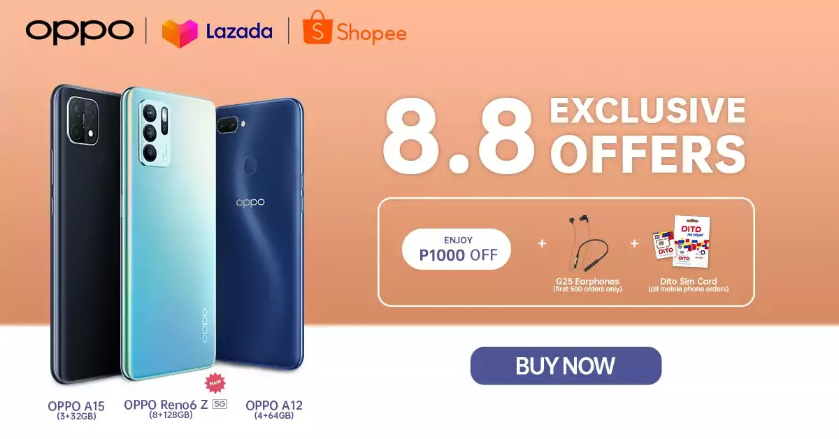 OPPO's Super Sale Events on Lazada and Shopee
