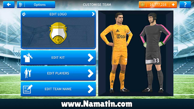 Download Seragam Dream League Soccer Ajax