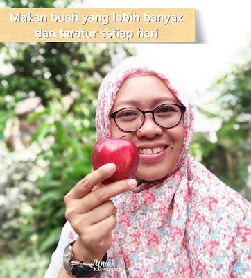 sembutopia makan buah secara teratur