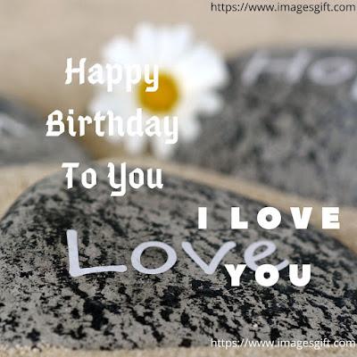 happy birthday images lover