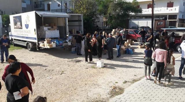 Διανομή τροφίμων σε δικαιούχους της επισιτιστικής βοήθειας στο Άργος