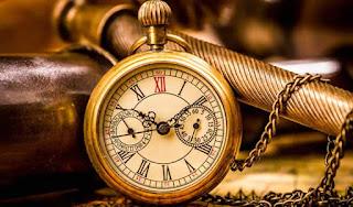 Reloj antiguo, feria Tortosantic