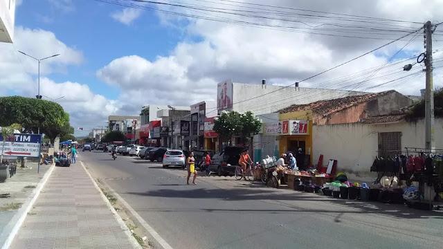 Centro de Ouricuri-PE — Foto: Geraldo Junior Oliveira