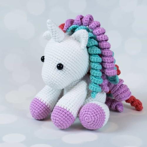 Baby Unicorn Amigurumi - Free Pattern