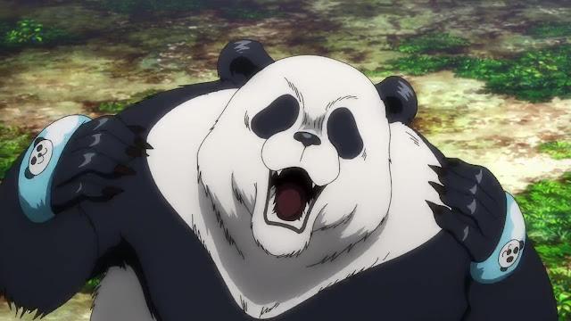 Sims 4 Panda CC Download - Jujutsu Kaisen