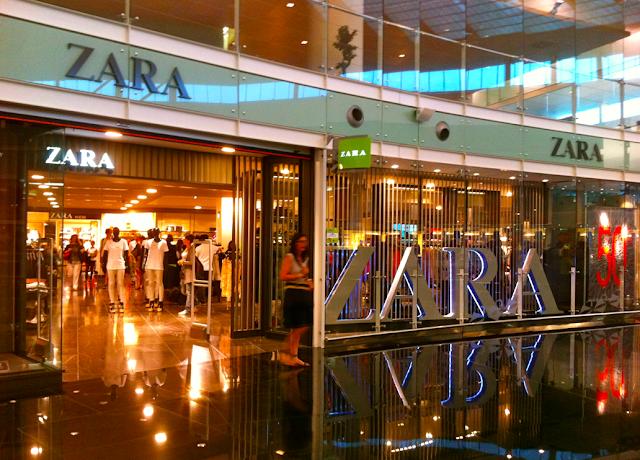 Zara em Barcelona