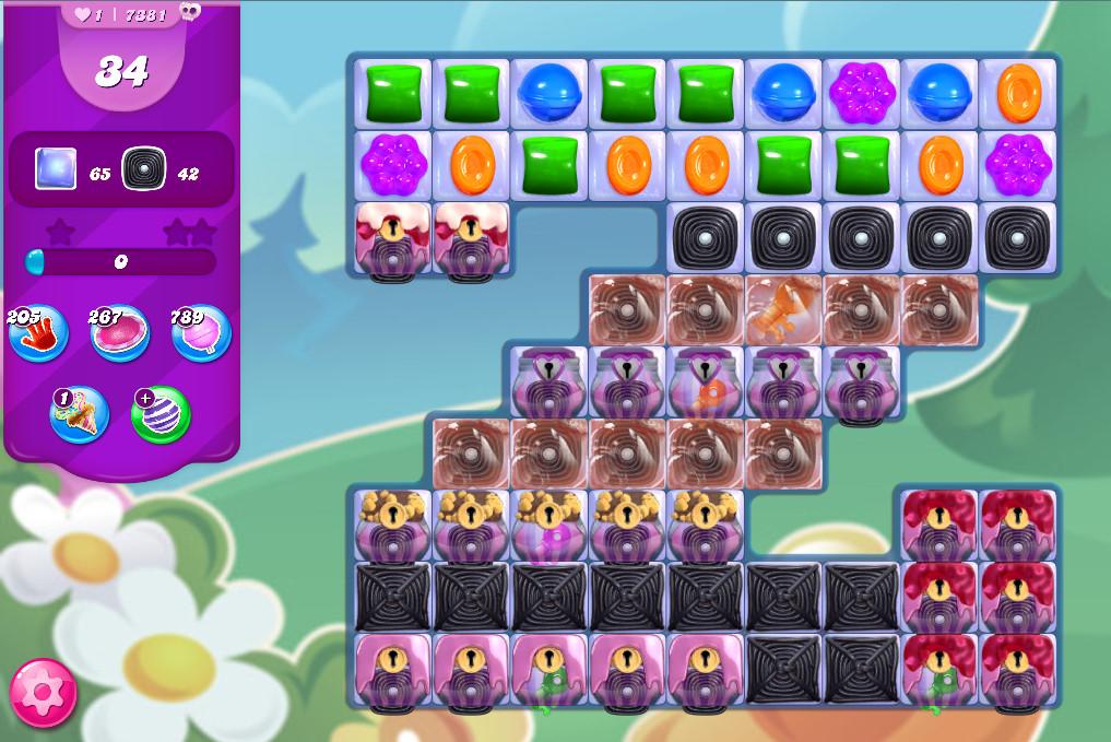 Candy Crush Saga level 7381