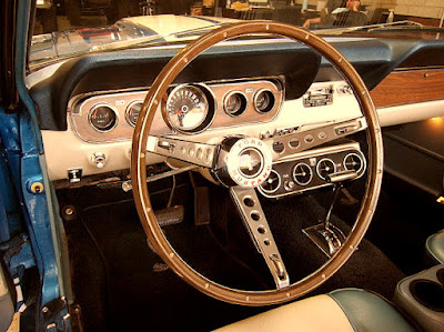 1966 Ford Mustang GT 350 Sport Convertible Steering Wheel