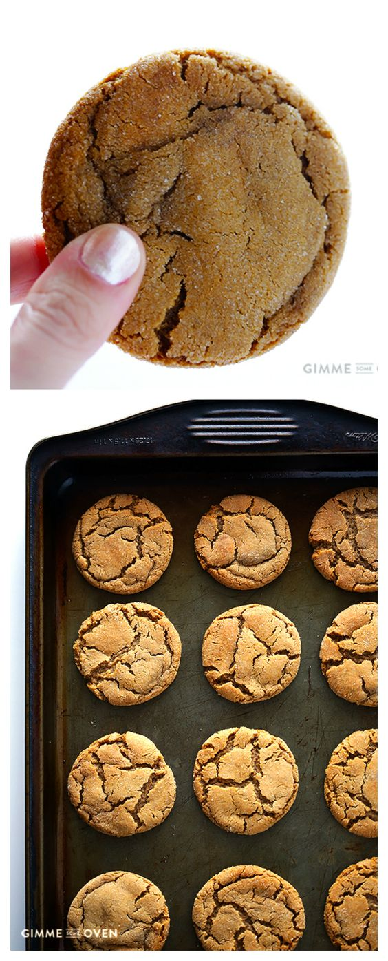 ★★★★☆ 7561 ratings | CHEWY GINGER MOLASSES COOKIES #HEALTHYFOOD #EASYRECIPES #DINNER #LAUCH #DELICIOUS #EASY #HOLIDAYS #RECIPE #CHEWY #GINGER #MOLASSES #COOKIES