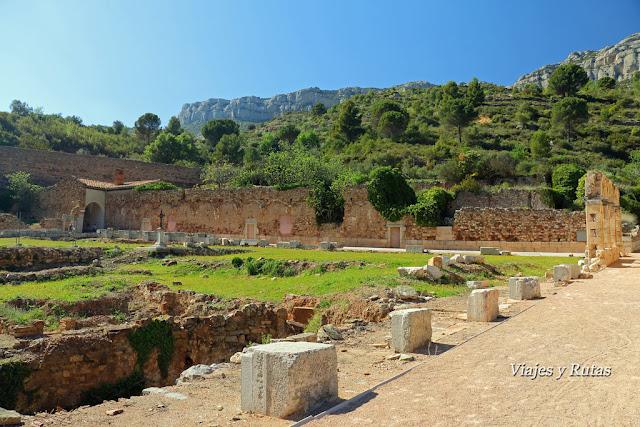 Ruinas de la Cartuja de Escaladei
