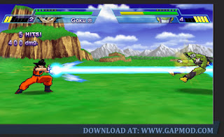 Dragon Ball Z Shin Budokai PPSSPP