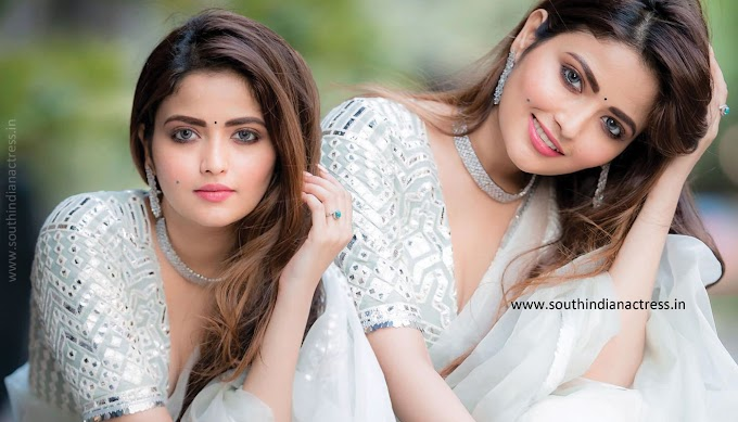 Actress Shirin Kanchwala Cute Pics And Classy Look In Saree photos