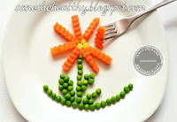 You can eat carrots raw with other veggies in salad.