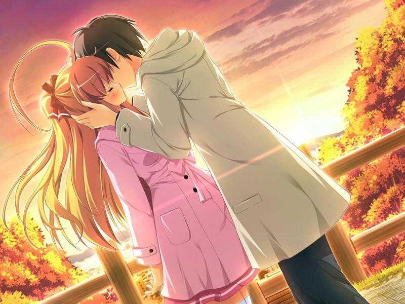 """""""Phát Sốt"""" 45+ Mẫu Hình Nền Anime Hôn Nhau Khi Yêu Cực Lãng Mạn"""