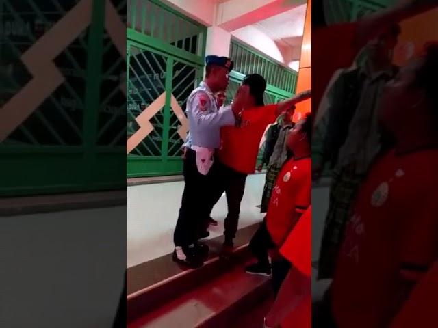 Suporter Sepakbola Ngamuk Dan Tantang Duel Prajurit TNI AU