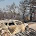 Εύβοια: Σώθηκαν τα 4 χωριά!  Κάηκαν αυτοκίνητα, δεν καταστράφηκαν σπίτια