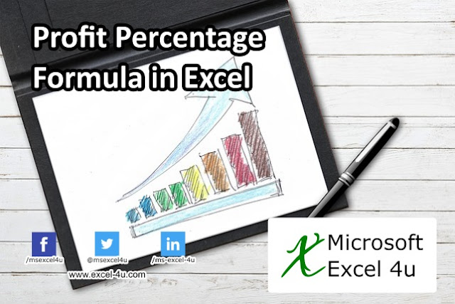 Profit Percentage Formula in Excel