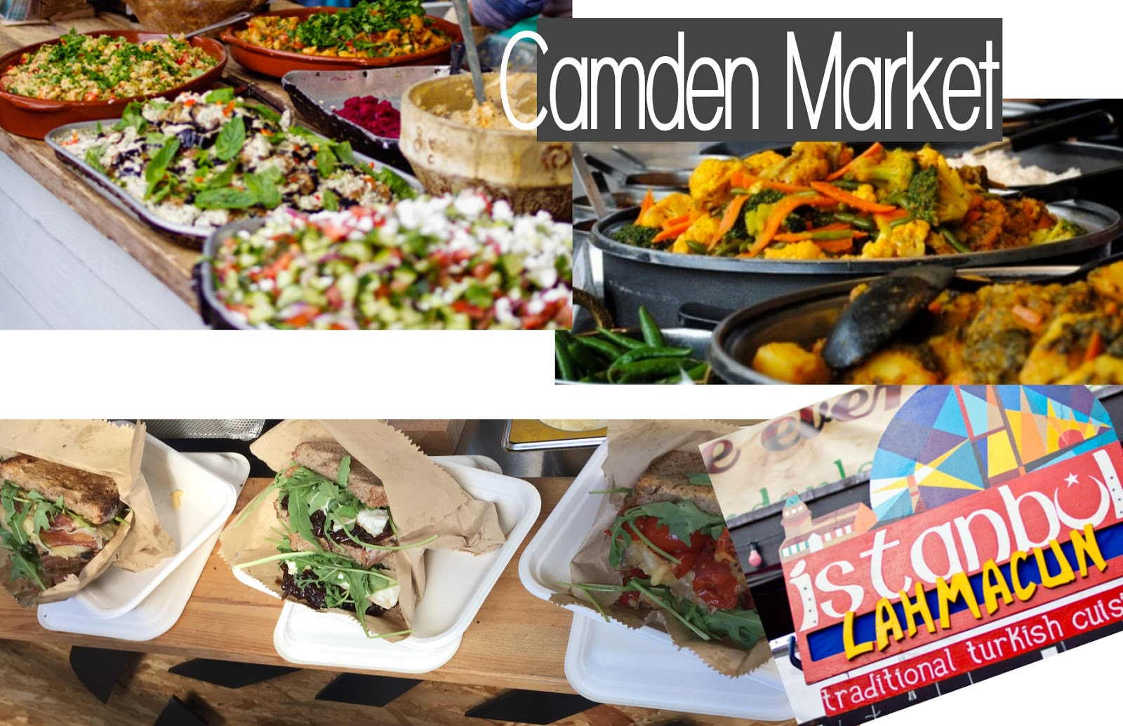 Food & Restaurants London Travel Guide Camden Market Food Stalls