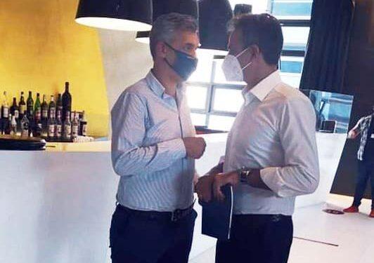 Ο πρόεδρος του Επιμελητηρίου Πρέβεζας Γιάννης Μπούρης βρίσκεται από την Παρασκευή στην Θεσσαλονίκη στα πλαίσια της Δ.Ε.Θ του 2021, προκειμένου να παρευρεθεί στο περίπτερο που βρίσκεται στον εκθεσιακό χώρο.