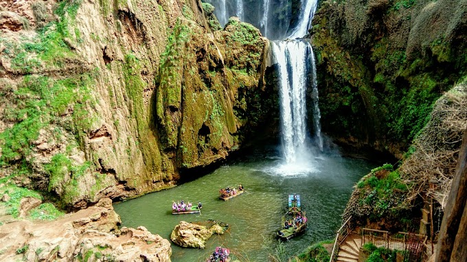Ouzoud Falls , The hidden Niagara falls of Morocco