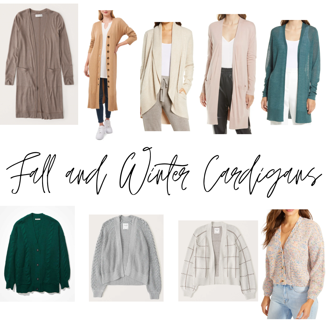 Fall and Winter Cardigans