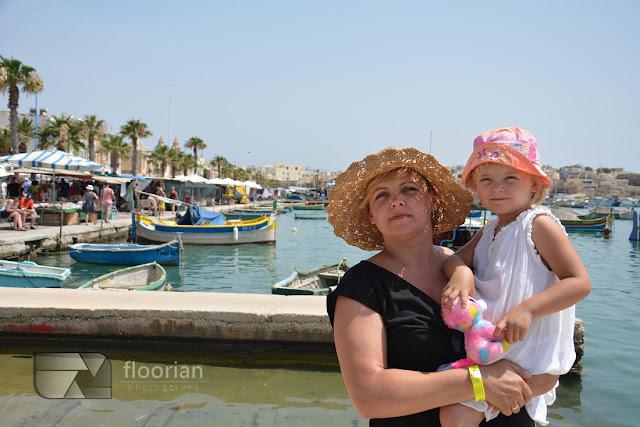 Malta dla dzieci. Podróże z dziećmi po Malcie - Marsaxlokk - największy port rybacki na Malcie