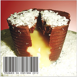 Copo de chocolate receita